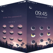 AppLock Theme Sunset icon