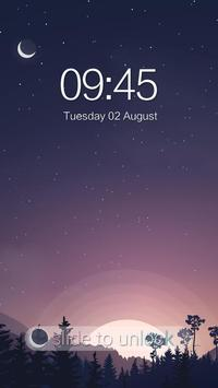 AppLock Theme Sunset apk screenshot