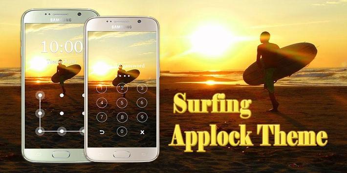 Applock Theme Surfing Apk App تنزيل مجاني لأجهزة Android