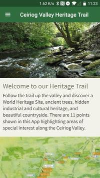Ceiriog Valley Trail poster