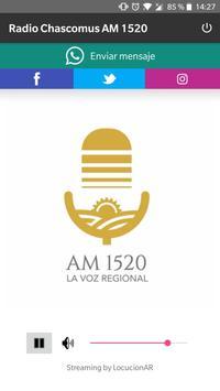 Radio Chascomus AM 1520 poster