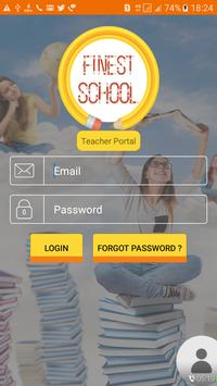 Finest school Teacher Portal apk screenshot
