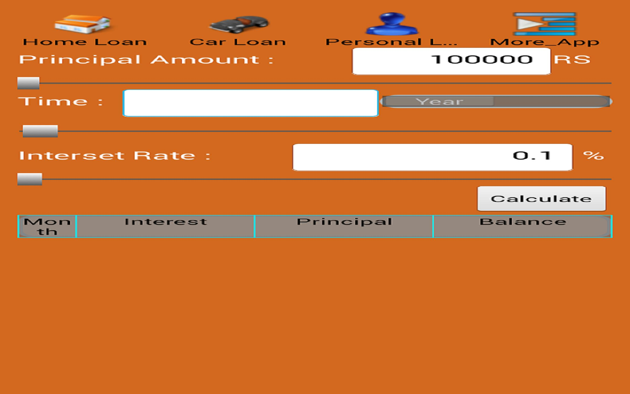 Loan EMI Calculator for Android - APK Download