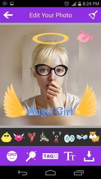 Sweet Girl-Photo Square Editor screenshot 1
