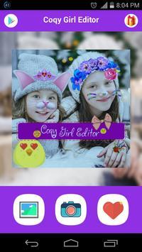 Sweet Girl-Photo Square Editor screenshot 3