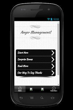 Anger Management Guide poster