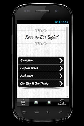 Vision Recovery táblák letöltése)