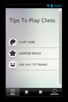 Tips To Play Chess poster