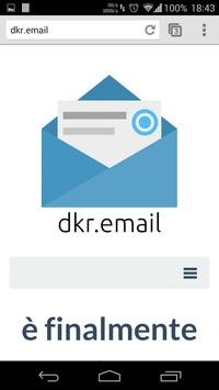 dkr.email Tester poster