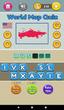 World map quiz fun quizzes for android apk download world map quiz fun quizzes captura de pantalla 14 gumiabroncs Gallery