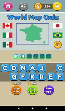 World map quiz fun quizzes for android apk download world map quiz fun quizzes captura de pantalla 10 gumiabroncs Choice Image