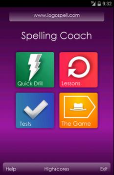 Spelling Coach poster