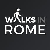 Walks in Rome icon
