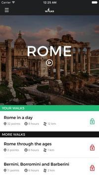 Walks in Rome poster