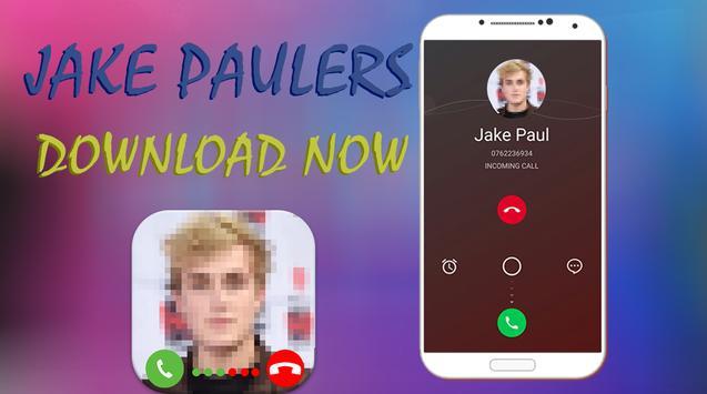 Jake Paul Fake Call Pro apk screenshot