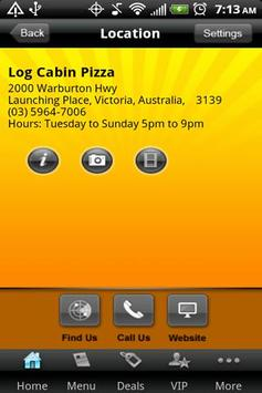 Log Cabin Pizza apk screenshot