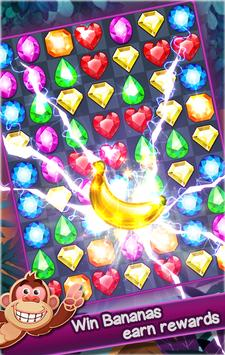 Jewels Bananas Kong screenshot 5