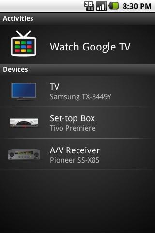 logitech google tv update download