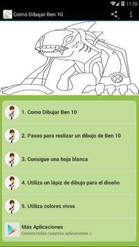 Como Dibujar Ben 10 poster