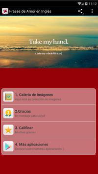 Frases de Amor en Inglés poster