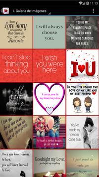 Frases de Amor en Inglés screenshot 1