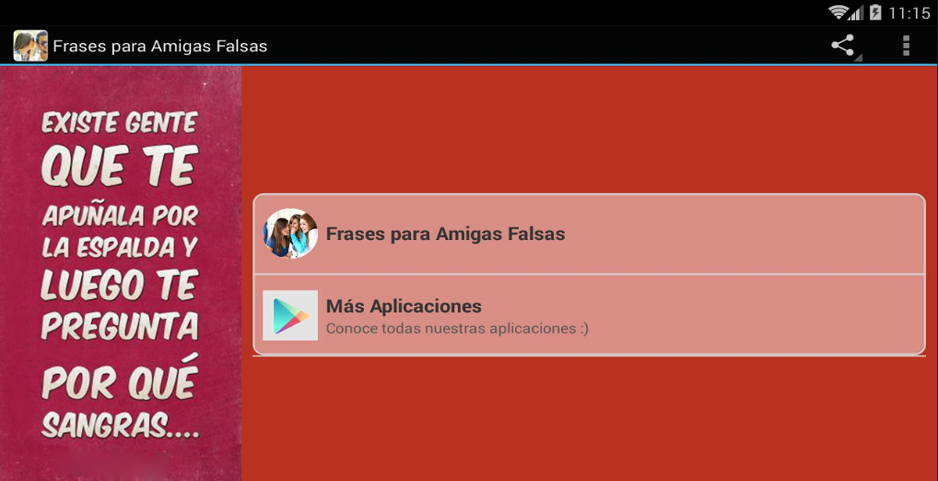 Frases Para Amigas Falsas For Android Apk Download