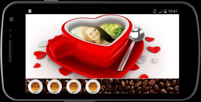 Coffee Mug photo Frames maker screenshot 1