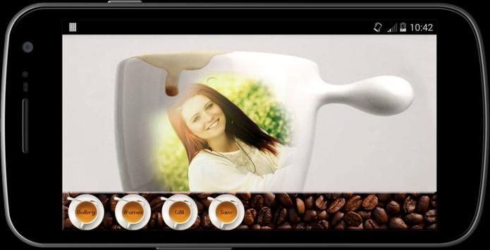 Coffee Mug photo Frames maker screenshot 2