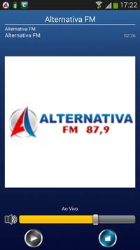 Alternativa FM Siqueira Campos poster