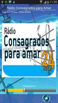 Radio Consagrados para Amar poster