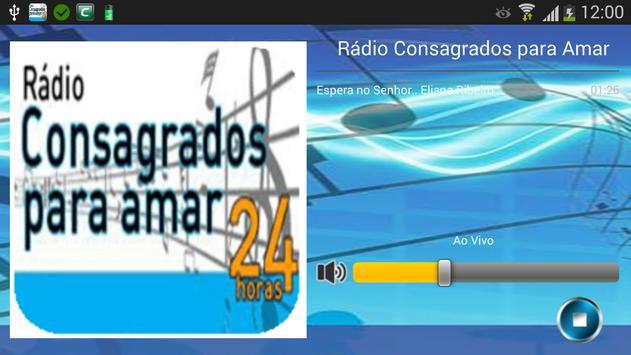 Radio Consagrados para Amar apk screenshot