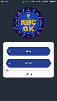 KBC GK poster