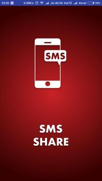 SMS Share poster