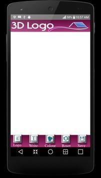 3d logo maker & 3d logo design apk screenshot