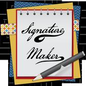 Signature Maker 2017 icon