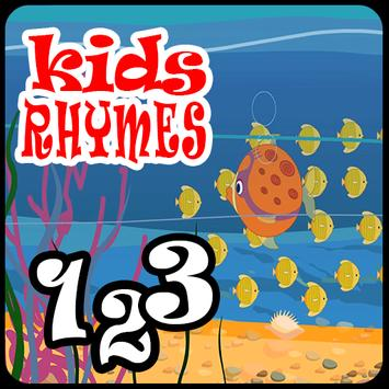 Kids Learning Numbers 123 poster