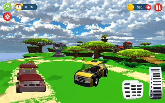 Monster truck toy Impossible drive screenshot 1