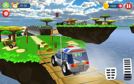 Monster truck toy Impossible drive screenshot 8
