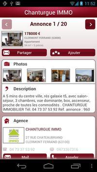 Chanturge IMMO apk screenshot
