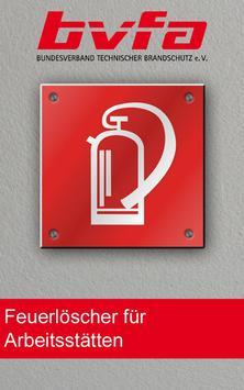 Feuerlöscher-Rechner ASR A2.2 poster
