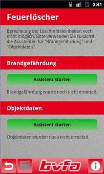Feuerlöscher-Rechner ASR A2.2 apk screenshot