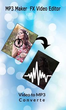 MP3 Maker : FX Video Editor screenshot 1