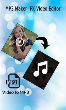 MP3 Maker : FX Video Editor screenshot 2