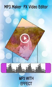 MP3 Maker : FX Video Editor screenshot 5