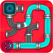Plumber Crush : Games Pipe, Puzzle Pipe (Beta) icon