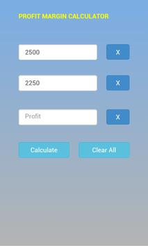 Profit Margin Calc screenshot 1
