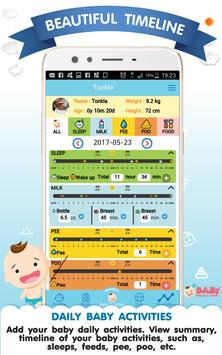 Baby Tracker & History poster