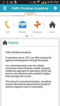 Faith Christian Academy apk screenshot