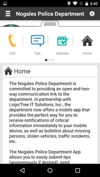 Nogales Police Department screenshot 1