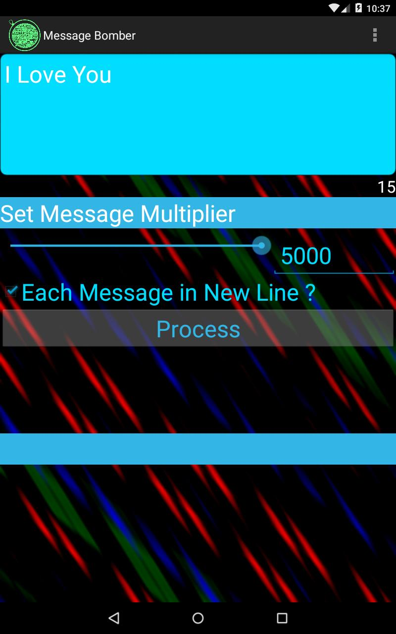 Message Bomber for Android - APK Download